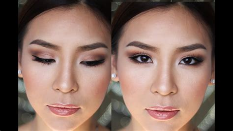 prom formal makeup tutorial youtube