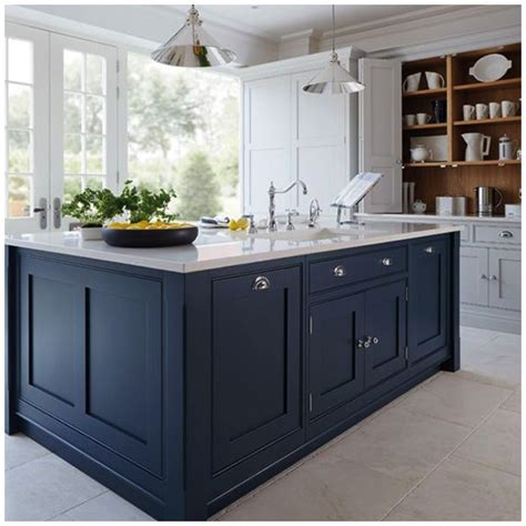 kitchen cabinets tops 4 ways to use navy blue in your kitchen 3269