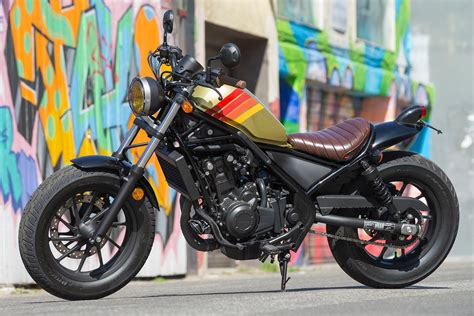 2017 Honda Rebel 500 And 300 First Ride Review