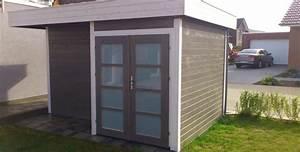 Gartenhaus Modern Kubus : gartenhaus bauen ob modern mit pultdach oder flachdach ~ Whattoseeinmadrid.com Haus und Dekorationen