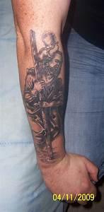 St Christopher tattoo from RateMyInk.com | Tattoo ideas ...