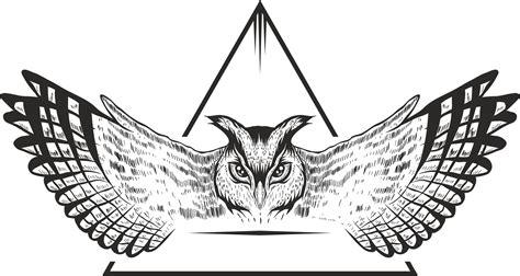 owl vector design  vector cdr  axisco
