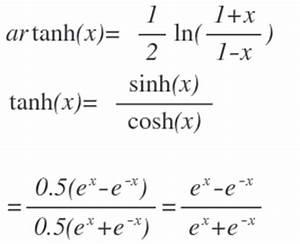 Stichprobenumfang Berechnen Formel : zeigen sie das die funktion artanh die umkehrfunktion von tanh ist mathelounge ~ Themetempest.com Abrechnung