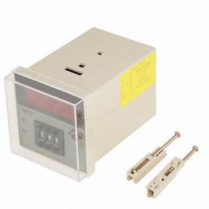 1 Set Pid Digital Temperature Controller Microcomputer Thermostat With Screw Accessories220v 0