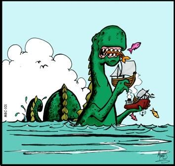 sea monsters favourite meal learnenglish kids