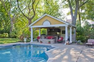 home with pool pool houses cabanas landscaping network