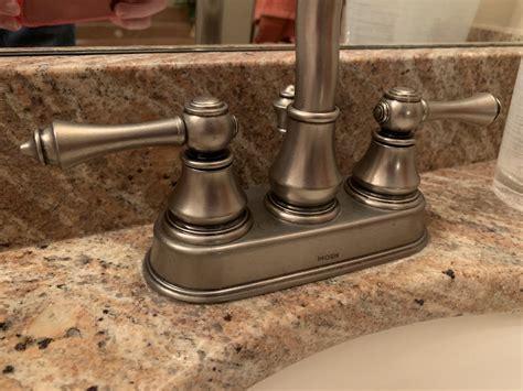 How To Repair Moen Bathroom Sink Faucet by How To Repair A Moen Bathroom Faucet Handle Mycoffeepot Org