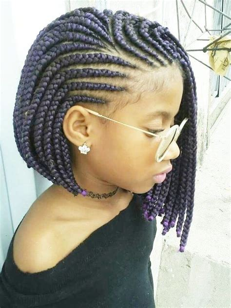 Little Girl Hairstyles Braids African American