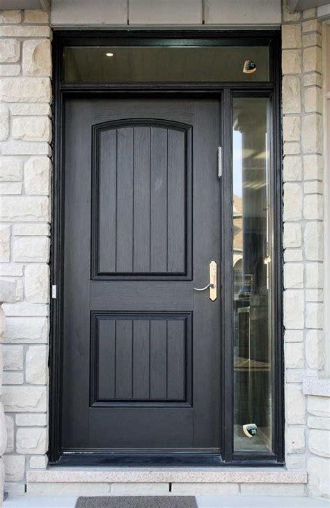 Rustic Fiberglass Exterior Doors