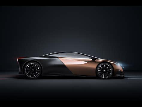 2012 Peugeot Onyx Concept Studio Side Wallpapers