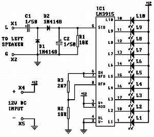 led vu meter With lm3915 datasheet