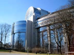 European Union Parliament Building Brussels