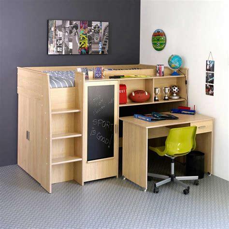 bureau lit lit avec bureau