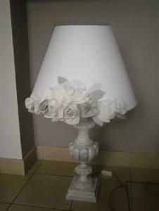 Abat Jour Fleurs Shabby Lamps Shades Pinterest