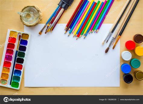 drawing supplies brushes pencil aquarelle gouache
