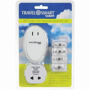 Travel Smart Conair Adapter Instructions