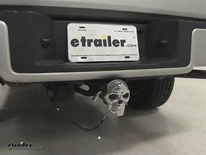 Skull Led Lighted Trailer Hitch Cover  4 U0026quot  And 2