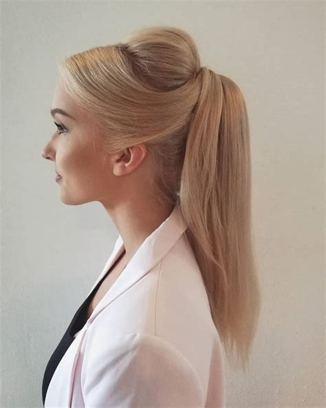 ponytail hairstyles hair long cute styles creative summer cool super loose go hairstyle try need professional stylish draped