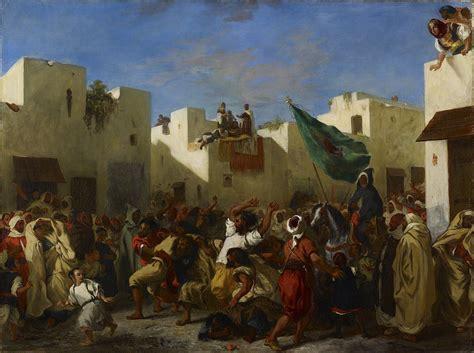 Fanatics of Tangier Delacroix Eugene