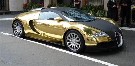 Gold Chrome Bugatti