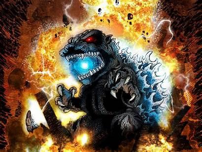 Godzilla Fire Dinosaur Monster Wallpapers Sci Fi