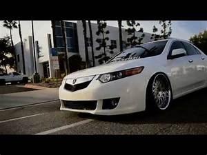 Slammed Acura Tsx