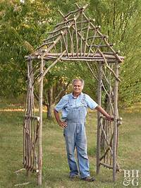 building an arbor Make Your Own Willow Arbor