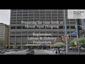 mount sinai hospital labour and delivery tour (updated ...