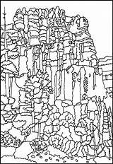 Bryce Coloring Canyon National Designlooter 784px 75kb sketch template