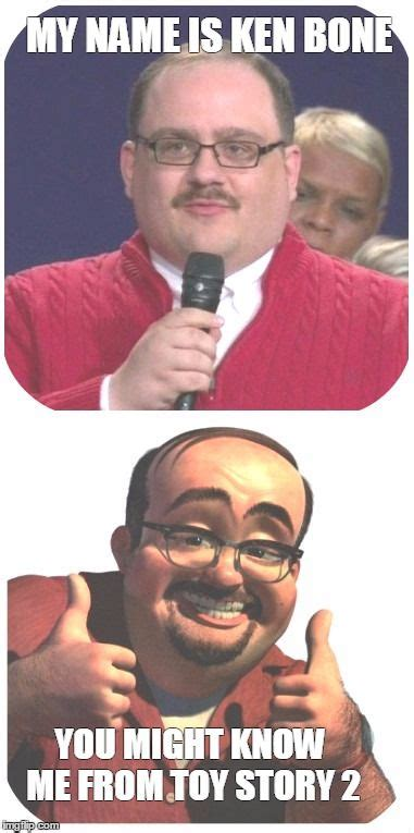 Meme Generator Toy Story - ken bone in toy story 2 my name is ken bone you might know me from toy story 2 image tagged