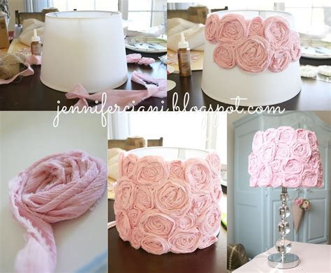 how to make shabby chic l shades march 2012 simply ciani
