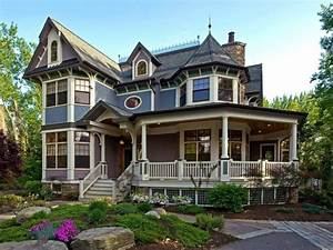 Victorian, Style, Home, Exterior, Cottage, Style, Homes, Exteriors, Victorian, Home, Plans, Wrap, Around