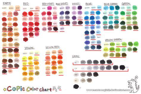 copic color chart color chart copic copic marker copic marker chart