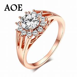high quality fashion wedding rings for women 2017 rose With high quality wedding rings