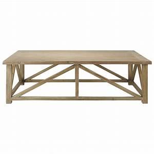Table Basse Bois Maison Du Monde : table basse en bois gris e l 140 cm st placide maisons du monde ~ Teatrodelosmanantiales.com Idées de Décoration