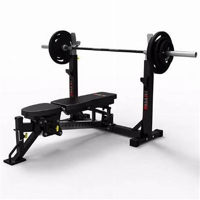 Press Megatec Bench Banca Gym Smith Machine