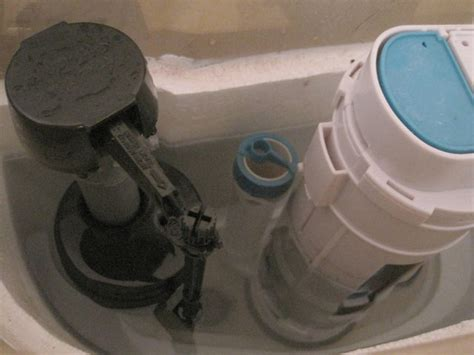 why does this toilet fill valve leak around the top home improvement stack exchange