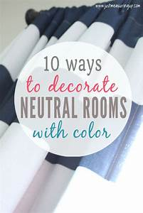 How to Add Color to Neutral Rooms on a Budget