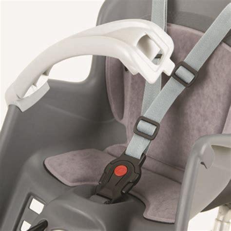 siège bébé à l avant polisport bilby junior porte bébé fixation avant gris