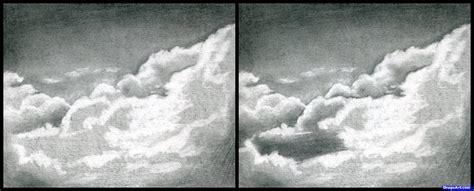 draw realistic clouds draw clouds step  step