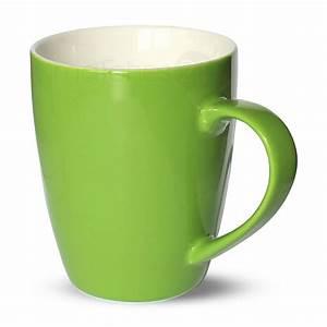 Tasse à Thé : tasse becher kaffeebecher gr n 1 stk 10cm 350ml porzellan b ware kaufen matches21 ~ Teatrodelosmanantiales.com Idées de Décoration