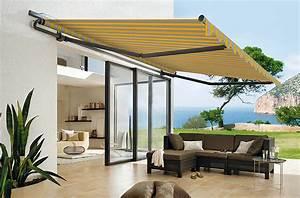 zerz sonnenschutztechnik offene markisen With markise balkon mit eigene tapete erstellen