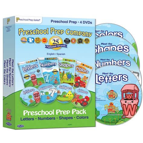 preschool prep 4 dvd pack best educational infant toys 109 | preschool prep 4 dvd pack