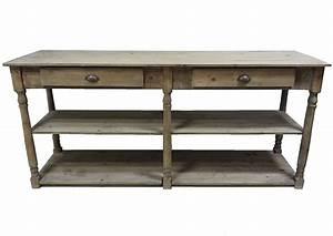 Console De Cuisine : meuble de metier console de drapier 2 tiroirs 2 etag res ~ Melissatoandfro.com Idées de Décoration