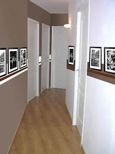 Peindre Un Couloir : couleur de peinture pour couloir deco maison moderne ~ Dallasstarsshop.com Idées de Décoration