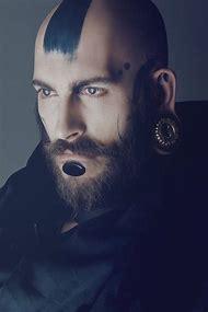 Bald Men with Beards Tattoos