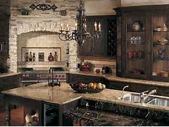 Create A Rustic Kitchen Design With The Help Of Stone Veneers Kitchen Island Decorating Style Top Granite Kitchen Island Stainless Pairing Rustic Kitchen Cabinets With Granite Countertops For Simple Good Kitchen Island Rustic Industrial Kitchen Island Design With With