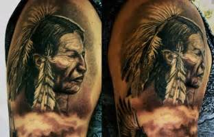 Native American Sleeve Tattoos