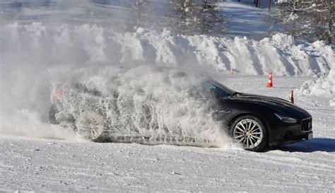 maserati snow 2015 maserati winter racing experience in livigno gtspirit