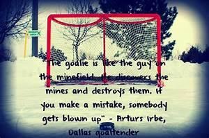 Inspirational Quotes For Goalies. QuotesGram